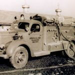 1949 International Bean pumper truck