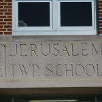 Jerusalem School Sign