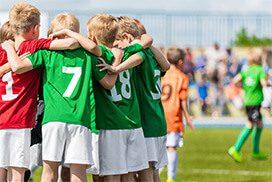 Child's sports team