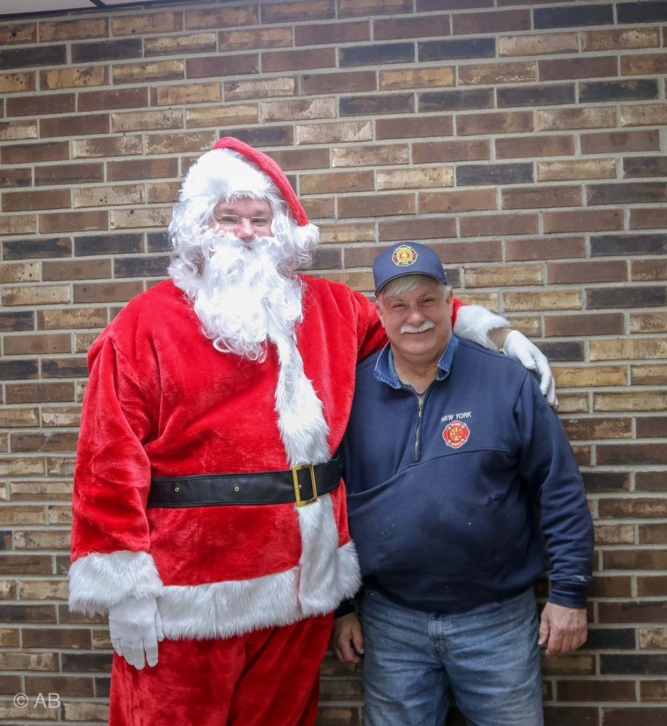 Santa & Fire Chief