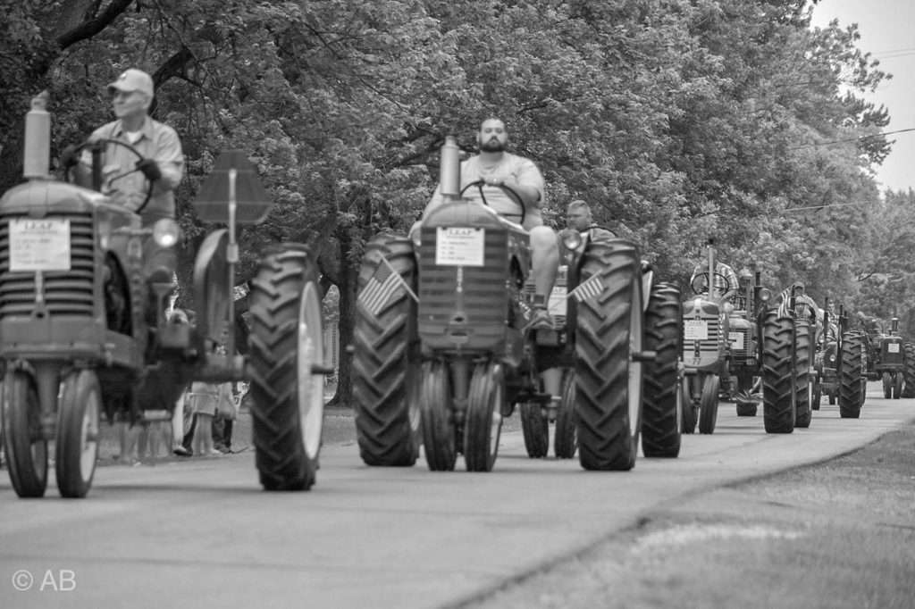 Tractor parade -Curtice Kidz Day 2018