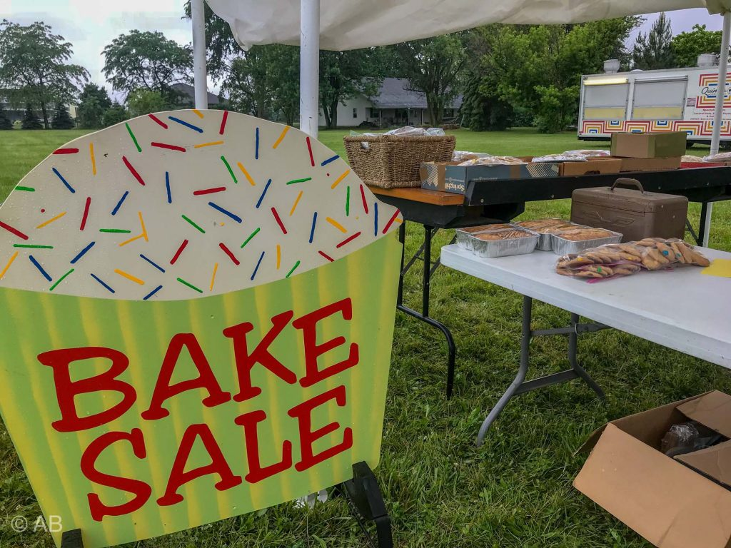 Bake Sale 2018 Curtice Kidz Day
