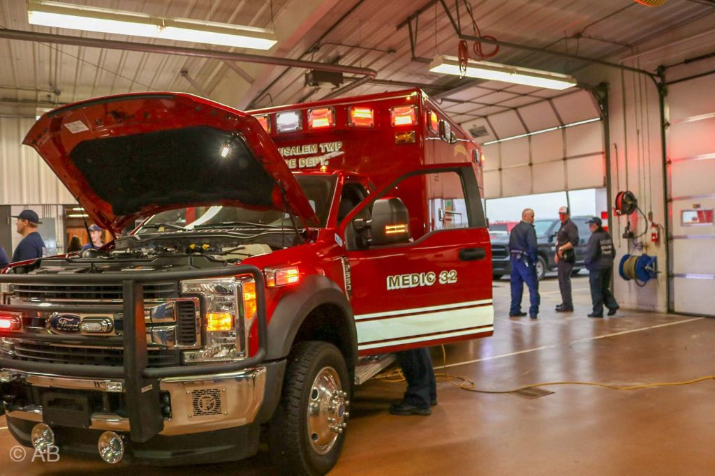 Fire Truck Open