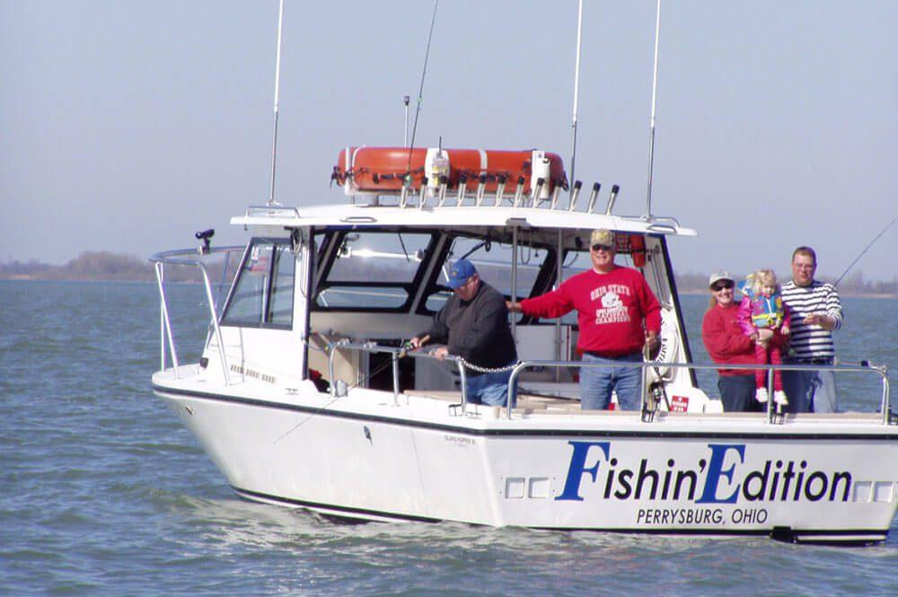 Fishin Edition Charters boat