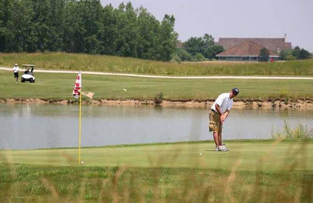 Golfing and Driving Range