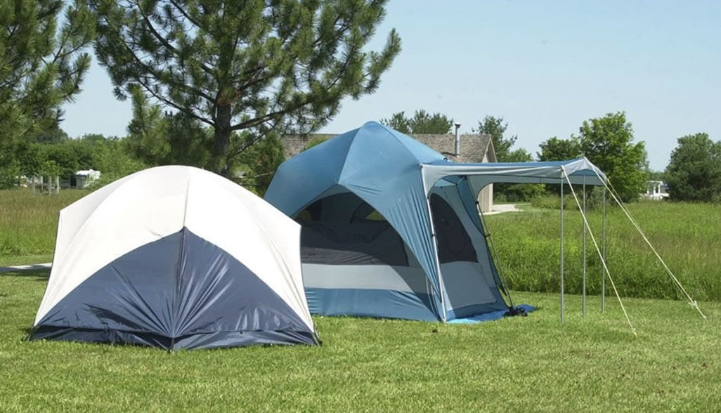Camping at Maumee Bay State Park