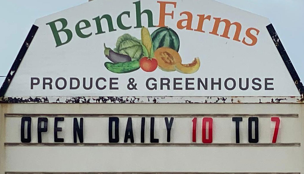 Bench's Farmers Market